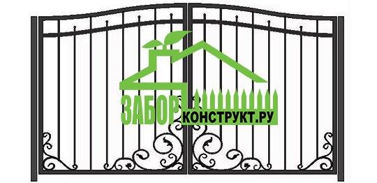 Сварные ворота. Вариант №4.